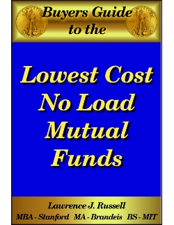 no load index mutual funds