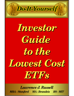 Lowest Cost ETFs ebook