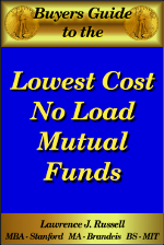 Lowest Cost No Load Mutual Funds ebook
